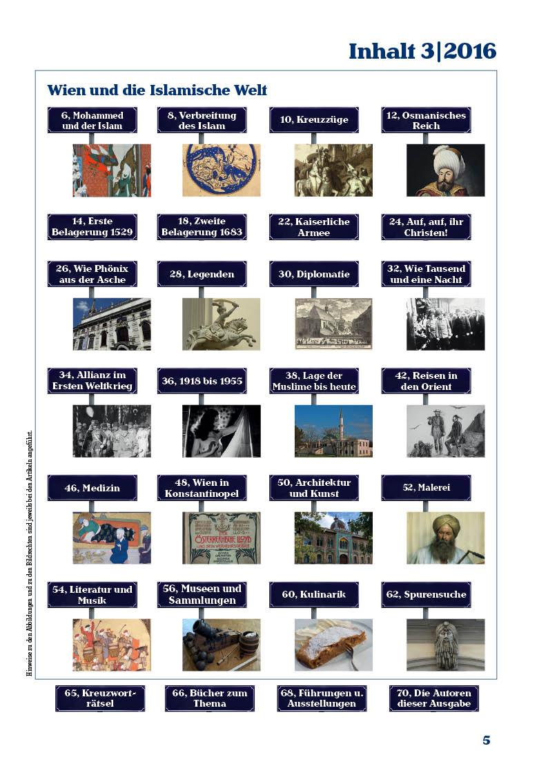 Inhaltsverzeichnis der dritten Ausgabe