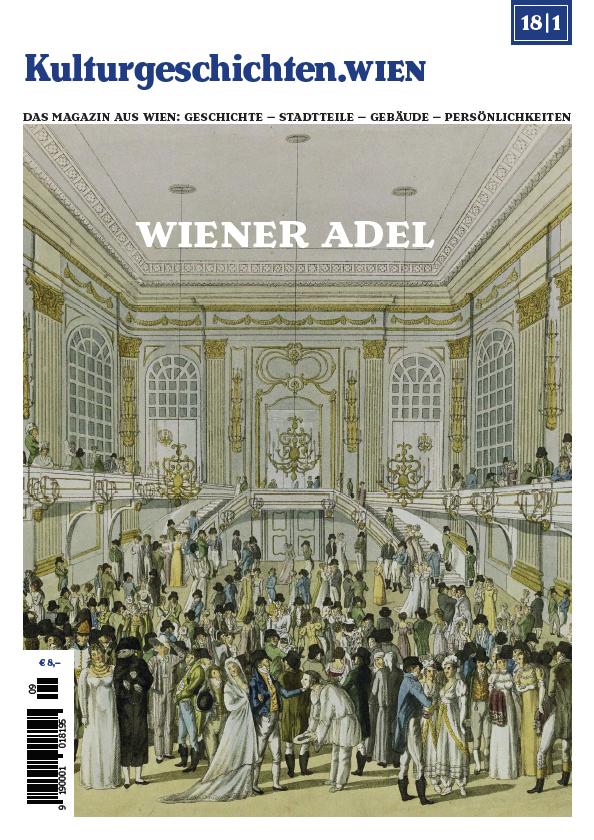 Titelseite der ersten Ausgabe mit Kaiser Franz Joseph I.